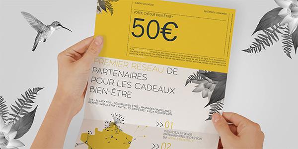 Chèque cadeau 50 € le-bienetre